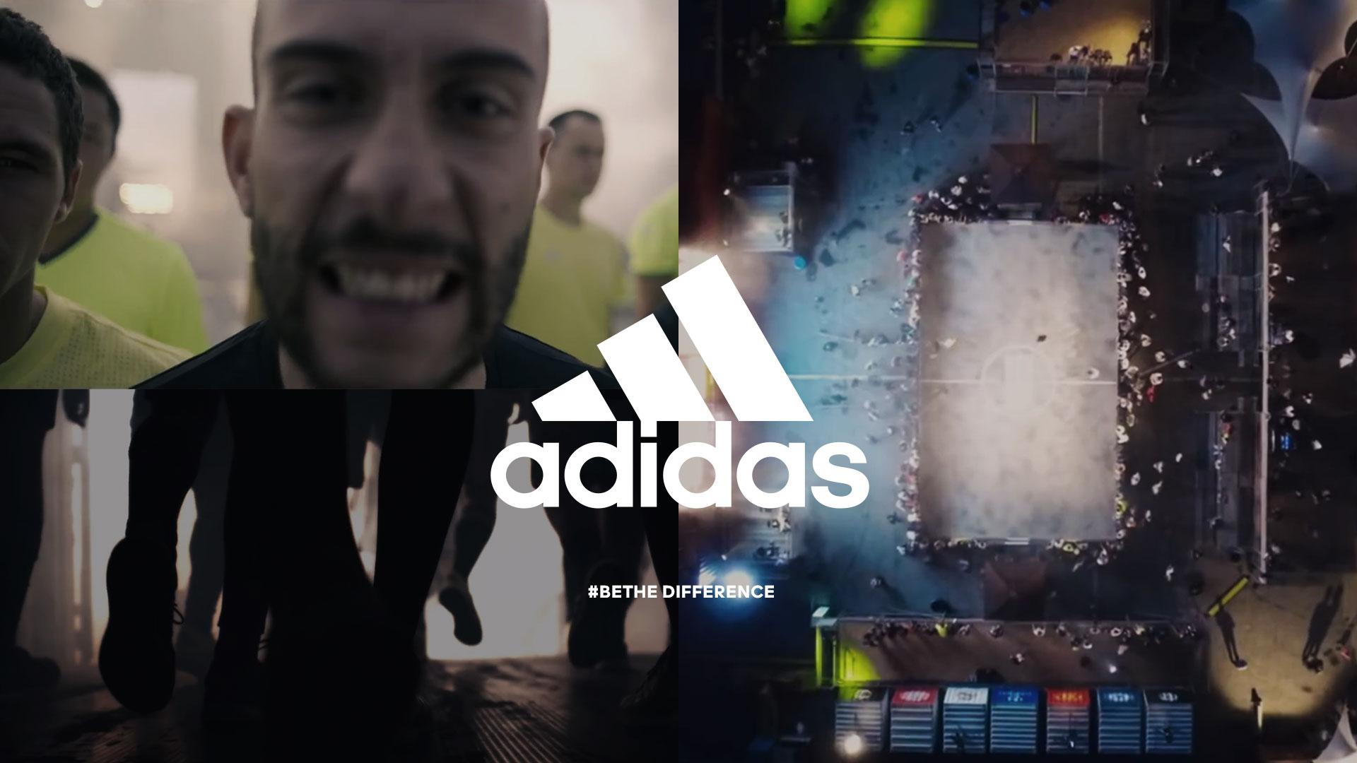 adidas Football #BeTheDifference